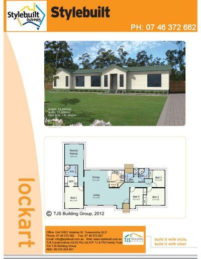 lockart - 4 bedroom transportable home plans northern nsw western qld