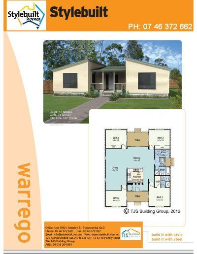 Warrego - 4 bedroom transportable home plans northern nsw western qld
