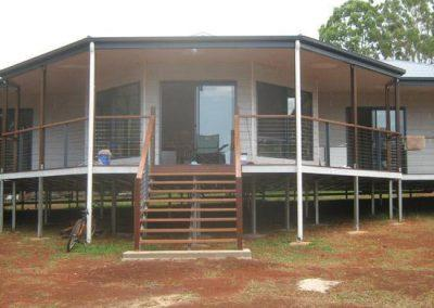 kit homes qld 1949 style front - kit homes northern nsw western qld