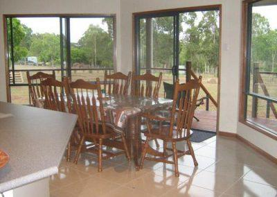 kit homes qld 1969 dining style