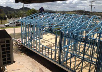 steel Frame trusses homes