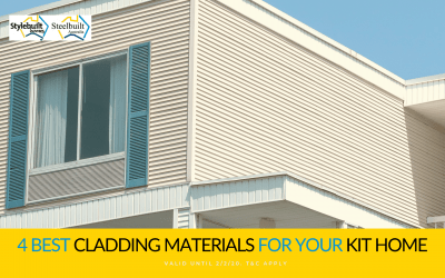 4 Best Cladding Materials for Your Kit Home