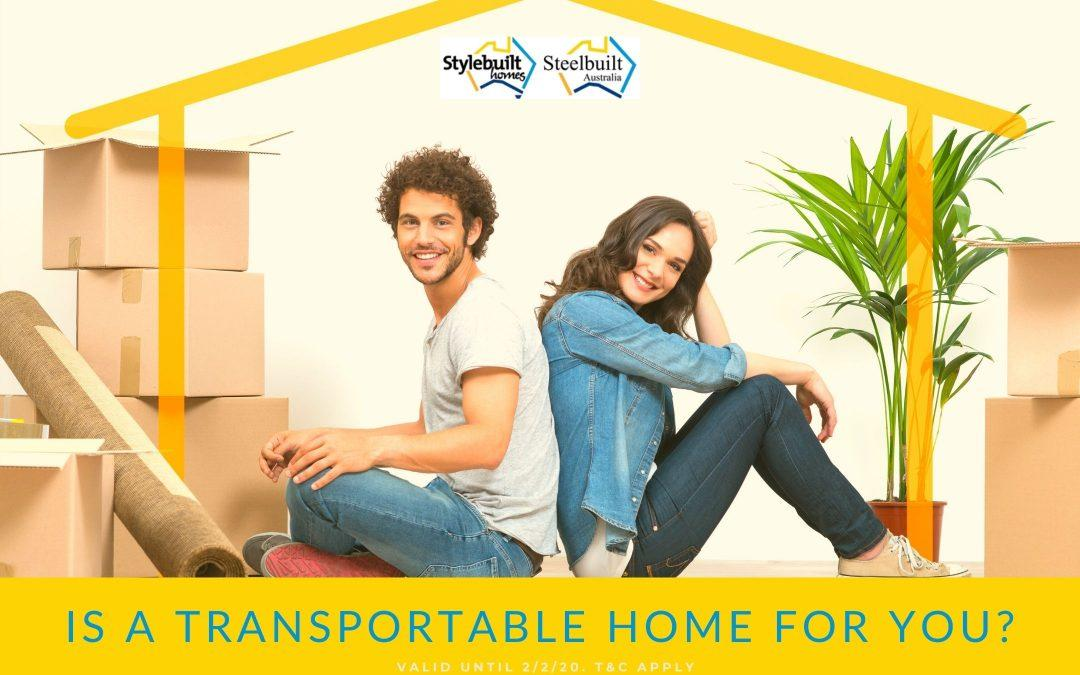 Is a Transportable Home for You?